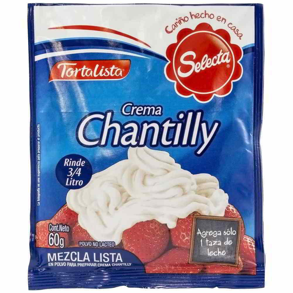 Crema Chantilly Fleischmann