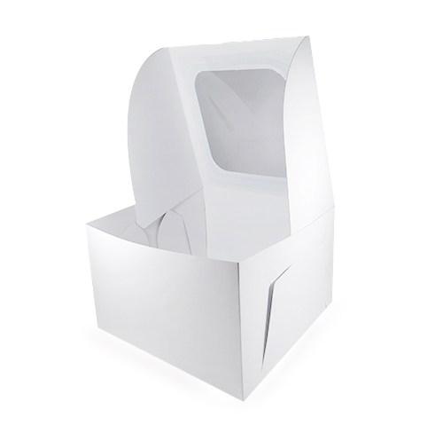 Caja Blanca Ponqué