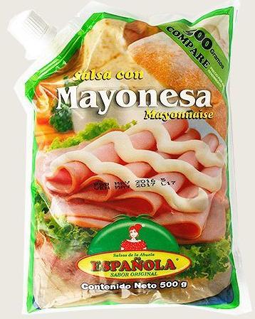 Salsa con Mayonesa Bolsa