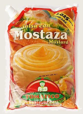 Salsa con Mostaza Bolsa