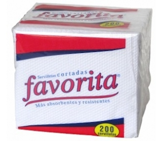 Servilletas Favorita