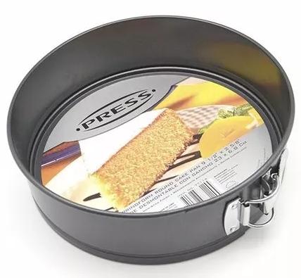 Molde Para Torta Desmontable Con Gancho 23 x 6.8 Cm